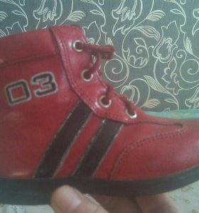 ботиночки демисезон.