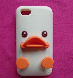 Чехол Baby Duck.На iphone 5