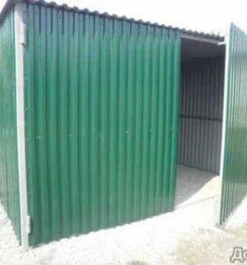 Металические гараж