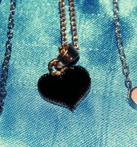 """Подвески """"сердце"""" новые"""