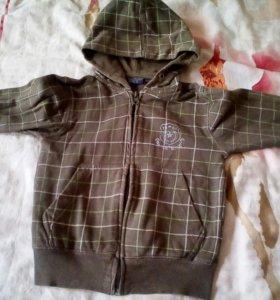 Флисоввя куртка 98