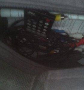 Видеокамера Jvc gr-ax66 + аксесуары