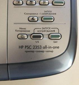 Принтер HP PSC 2353