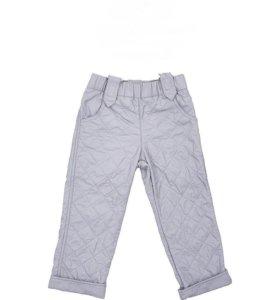Демисезонные штаны на флисе р-р 152