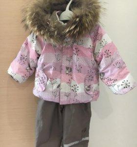 Зимний комплект для девочки Lassie