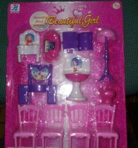 Набор мебели для девочек