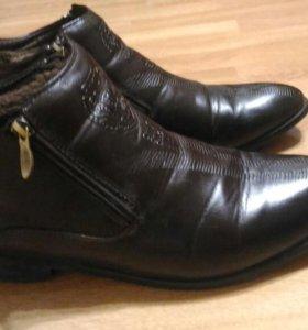 Ботинки отличные. Размер 44-45