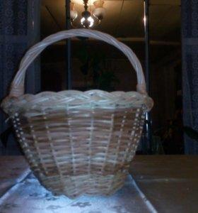 Корзинки плетеные из лозы