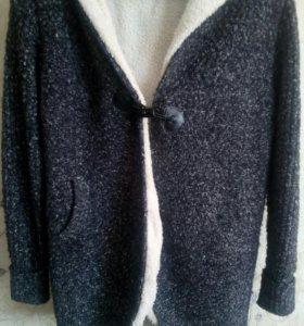 (Торг!!!) Теплая кофта, тонкое вязаное пальто