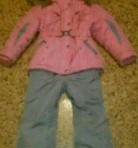 Зимний костюм на 4-5 лет