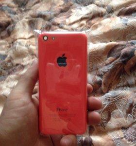 Корпус на айфон 5c (розовый)