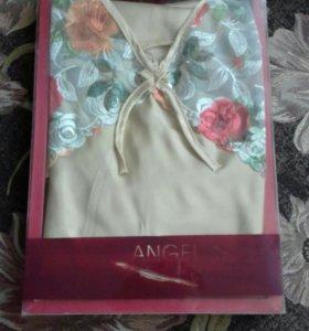 Новый комплект халат и сорочка