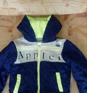 Куртка на мальчика весна - осень, на 2 - 3 года