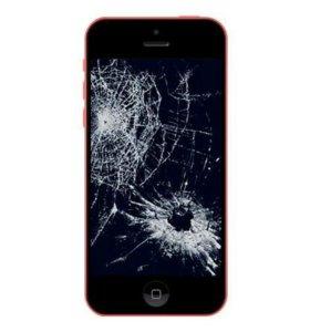 Замена ремонт стекла на iphone ipad