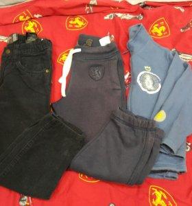 Вельветовые джинсы,штаны утепленные,кофта