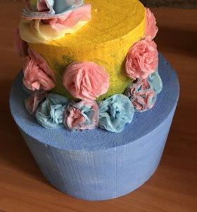 Торт для детской фотосессии
