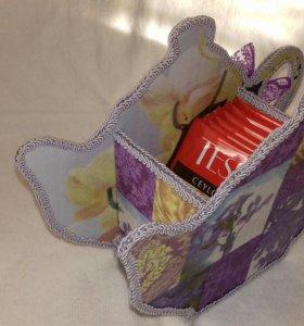 Подставка для чайных пакетиков .