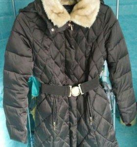 Пальто зимнее, одевалось несколько раз