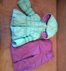 Демисезонный костюм для девочки