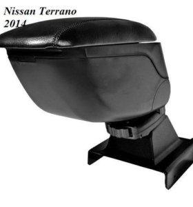 Nissan Terrano подлокотник-слайдер