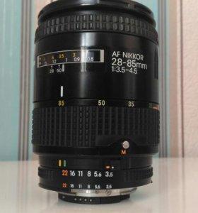 AF Nikkor 28-85mm 1.3.5-4.5 (MK II)