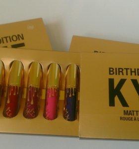 Kylie 6 шт супер яркие тренд цвета