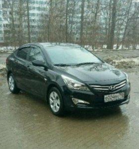 Автомобиль Hyundai solaris 1.6 AT седан