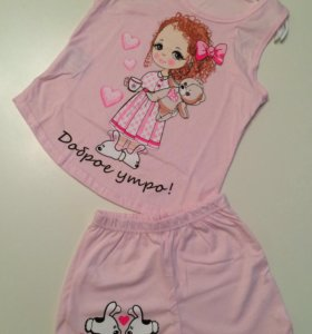 Пижама на девочку новая
