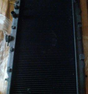 Радиатор двигателя Хонда цивик 88-92 г.в crx