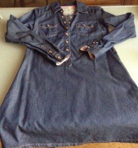 Продам джинсовое платье 42 р