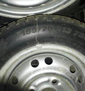Колеса на малолитражку(Matiz)