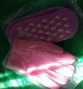 Носочки и перчатки гелевые