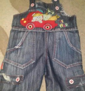 джинсовые шорты комбинезон