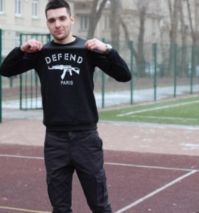 Толстовка Defend Paris S-XL