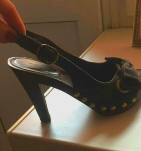 Туфли сабо босоножки женские 36 Karen Millen