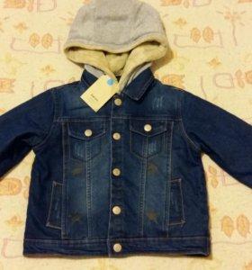 Джинсовая куртка 104-110-116