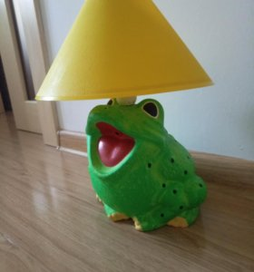 светильник лягушка