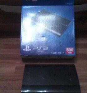 Шикарная Playstation 3 super slim 500gb