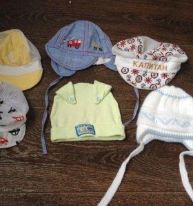 Шапки и кепки на мальчика