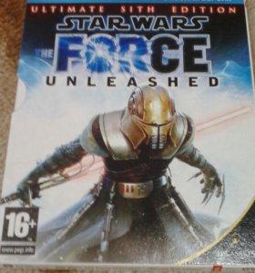 Игра на пк ,, Star Wars the Force uleashed ,,