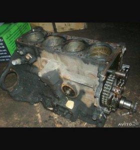 Блок двигателя с поршневай змз 406
