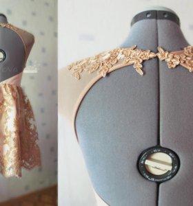Выпускное платье, шила назаказ