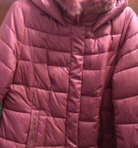 Куртка зимняя , очень тёплая!один раз одета !
