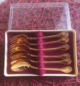 Сувенир из 80х декоративные ложечки и вилочки 6 шт