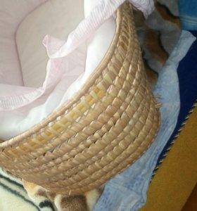 Плетеная люлечка