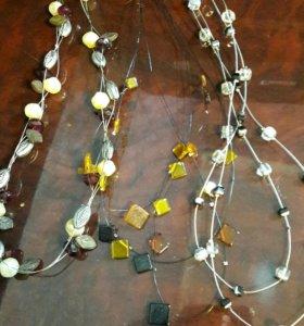 Ожерелье и различные бусы