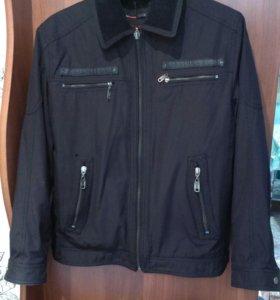 Куртка демисезонная,мужская,р-р 48-50
