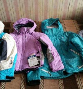 Зимние горнолыжные спортивные куртки