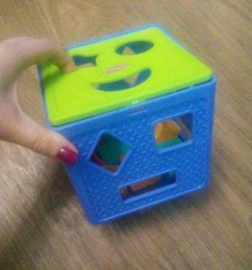 Занимательный куб-сортер