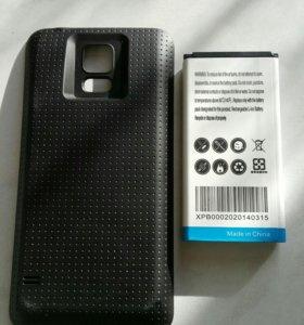 Аккумулятор Samsung S5 на 7800 mAh